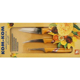 Kom Kom 3 kusový Carving set