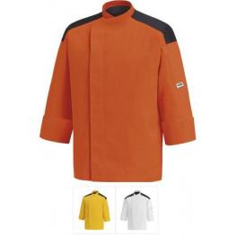 Kuchársky rondon - farebný s výložkou(oranž,žltý,biely)