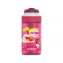 Kambukka Zdravá fľaša pre deti Lagoon 400 ml - Flying Supergirl