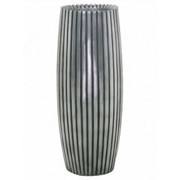 Kvetináč Lines sivý 20x50 cm