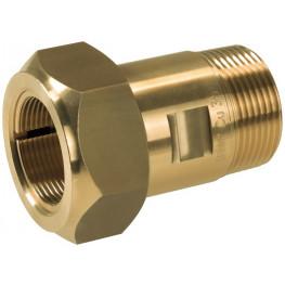 """GEBO Brass MAS 01.310.00.03 1""""x33,7mm Oceľ, NBR tesnenie"""