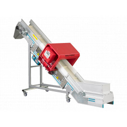 Belt Conveyor with&nbspMetal Detector MBConveyorsN-TR