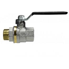 """MERCURY 0412N408 Guľový ventil na vodu M/F 1.1/2"""", DN 40, oceľová páka"""