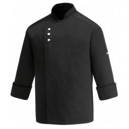 Kuchársky rondon METAL BLACK - dlhý rukáv