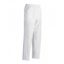 Kuchařské kalhoty bílé - mikrovlákno