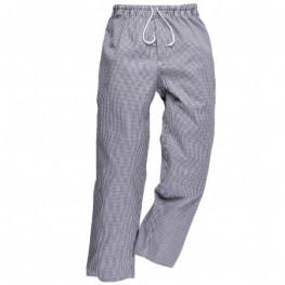 Kuchárske nohavice - vzor Pepito - Predĺžené