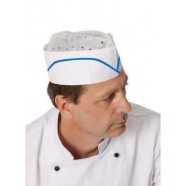 Papierová kuchárska čiapka lodička - jednorázová