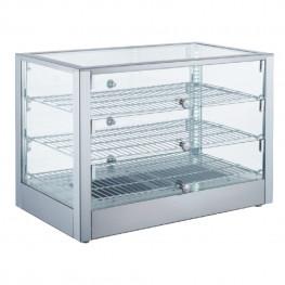 Ohrevná vitrína LINOREX® MINI – hranata – 115 liter