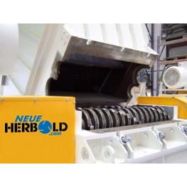 Neue Herbold ZRM sorozatú kéttengelyes aprítók