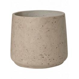 Kvetináč Rough Patt XL sivý (béžový) 23x20 cm