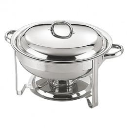 Chafing dish okrúhly, 7,5 lit