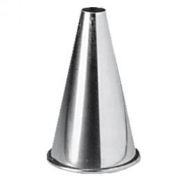 Kovová koncovka okrúhla 1,0 cm