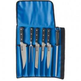 Sada nožů z kované oceli, 6 dílů