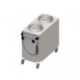 Ohrevný vozík na taniere – 100 tanierov