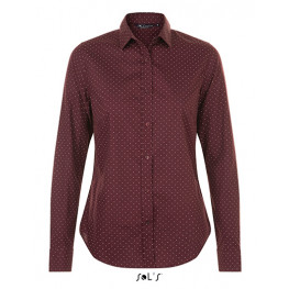 Dámska čašnícka košeľa bodkovaná - 4 farby