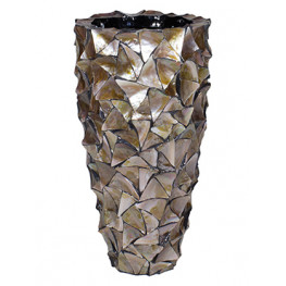 Shell Coast Mother of pearl brown 40x77 cm