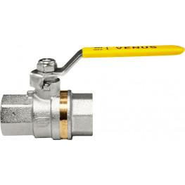 """VENUS 1011G204 Guľový ventil na plyn F/F 1/2"""", DN 15, oceľová páka"""