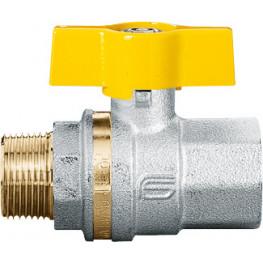 """VENUS 1022G263 Guľový ventil na plyn M/F 3/8"""", DN 10, T-páka"""