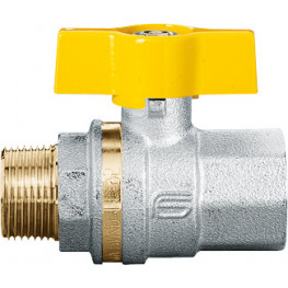 """VENUS 1022G265 Guľový ventil na plyn M/F 3/4"""", DN 20, T-páka"""