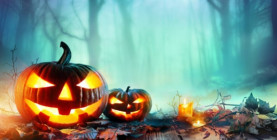 Halloweenske vyrezávanie tekvíc