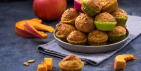 Branislav Michalčík: Tekvicové muffiny z pečenej tekvice Hokkaido