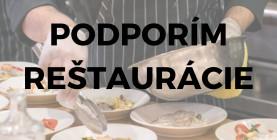 Pridajte sa k výzve: Podporím reštaurácie!