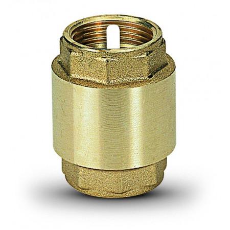 "Ms Spätná klapka s plastovým vnútrom, 0 až 90°, typ 1010 1/2"" 10100004"