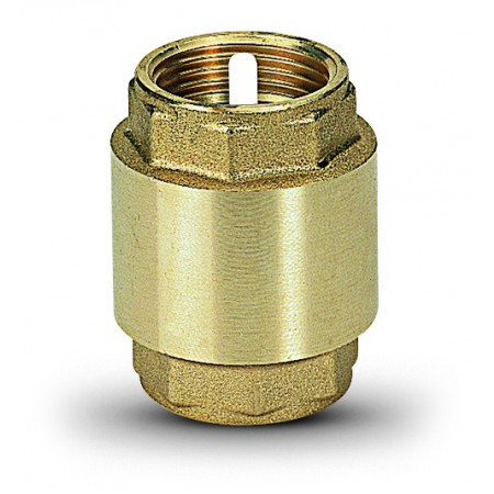 "Ms Spätná klapka s plastovým vnútrom, 0 až 90°, typ 1010 2.1/2"" 10100015"