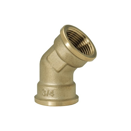 "GEBO Gold - Ms Koleno 45° F/F 1"", G120-06BR"
