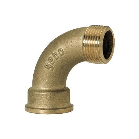 """GEBO Gold - Ms Oblúk 90° M/F 3"""", G1-11BR"""
