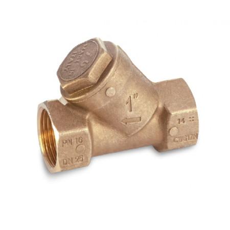 "Mosadzný Y filter, 0 až 95°, typ 1905 1.1/2"" 19050011"