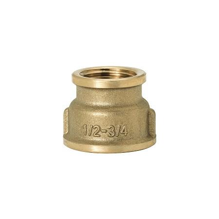 """GEBO Gold - Ms Nátrubok redukovaný F/F 1/2""""x3/8"""", G240-19BR"""