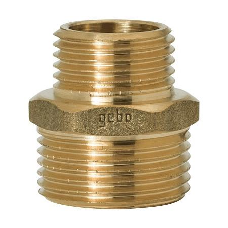 """GEBO Gold - Ms Vsuvka redukovaná M/M 1""""x1/2"""", G245-25BR"""