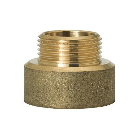 """GEBO Gold - Ms Prechod redukovaný M/F 1/2""""x3/4"""", G246H-22BR"""