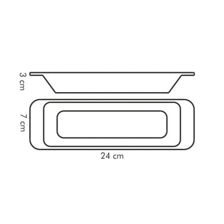 Tescoma miska pozdĺžna GUSTITO 24 x 7 cm