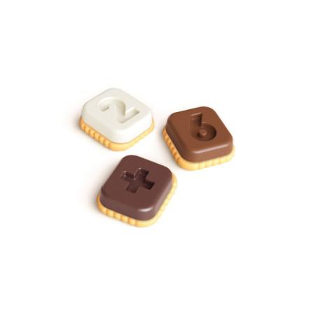 Tescoma formičky na čokoládu DELÍCIA KIDS, čísla