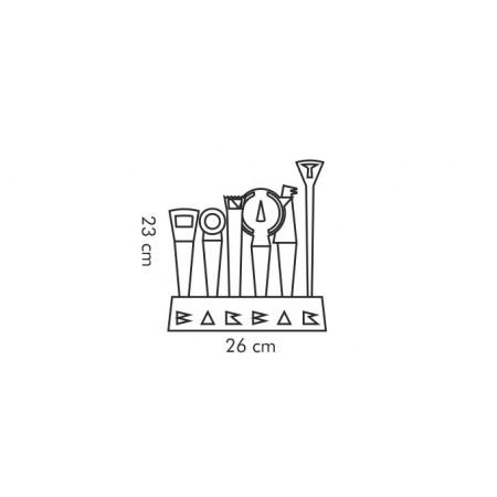 Tescoma náradie pre barmanov BARBAR, 6 ks
