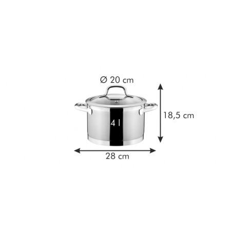 Tescoma hrniec PRESIDENT s pokrievkou ø 20 cm, 4.0 l