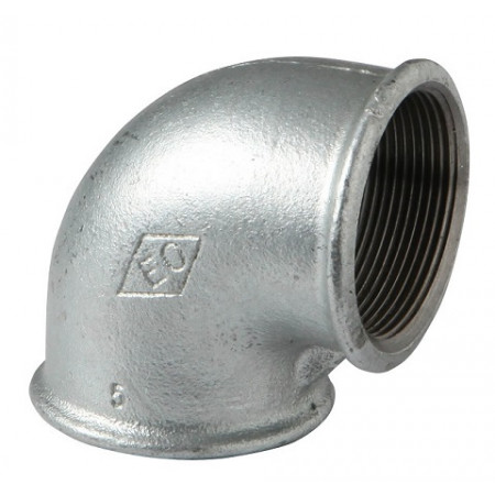 "HD Pozink - Koleno 90 F/F 4"", 0900500C"