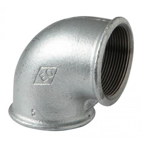 """HD Pozink - Koleno 90 F/F 3/8"""", 09005002"""