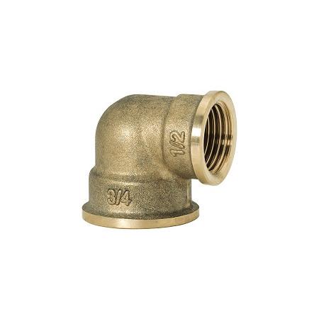 """GEBO Gold - Ms Koleno redukované 90° F/F 1""""x3/4"""", G90-26BR"""