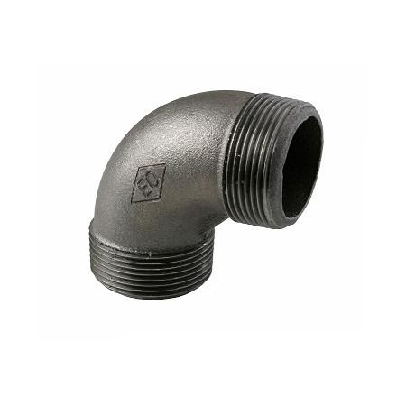 "HD Čierny fiting - Koleno 94 M/M 1/2"", 09401003"