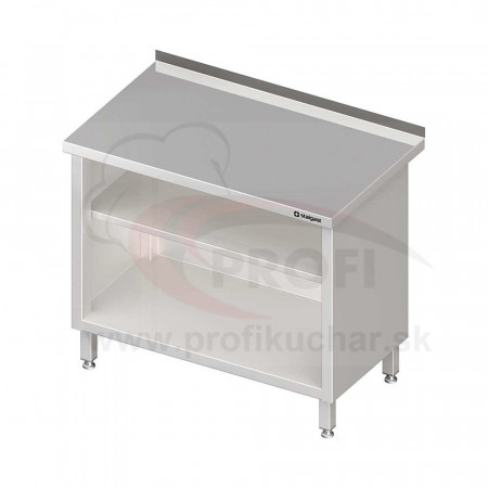 Pracovný stôl krytovaný - otvorene 800x600x850mm