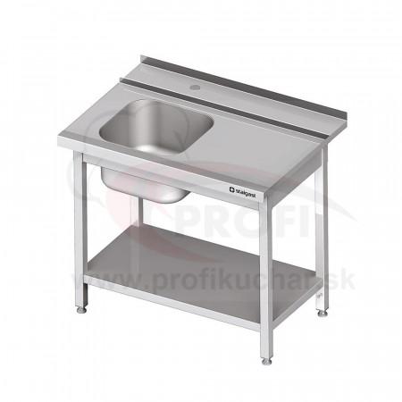 Vstupný stôl k priebežnej umývačke STALGAST – PRAVÝ 900mm