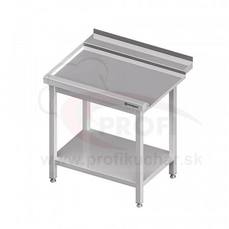 Výstupný stôl k priebežnej umývačke STALGAST – LAVÝ 1100mm