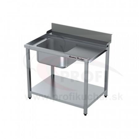 Vstupný stôl k priebežnej umývačke ARISTARCO® – s drezom 1400mm