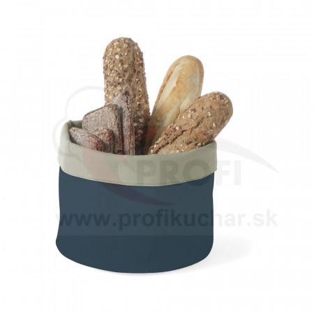 Košík na pečivo okrúhly 25 cm – šedo-tmavomodrý STALGAST®