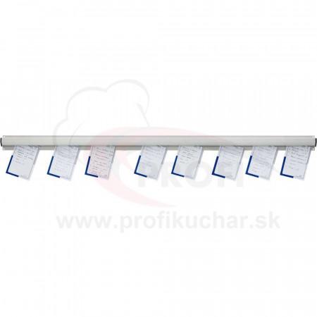 Lišta s úchytom na papier Stalgast® 120 cm
