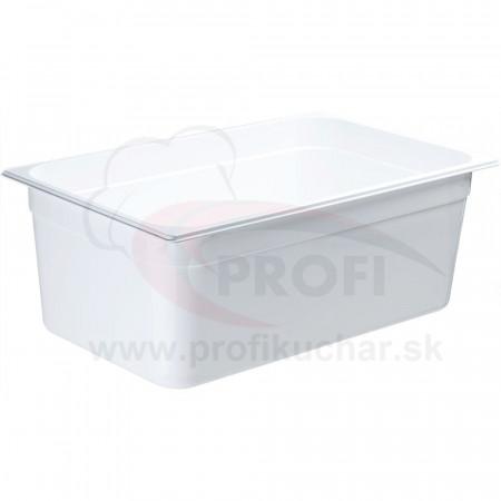GN nádoba 1/1-200mm, bielý polykarbonát