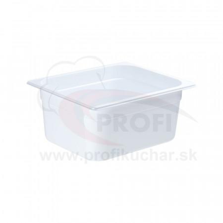GN nádoba 1/2-150mm, bielý polykarbonát